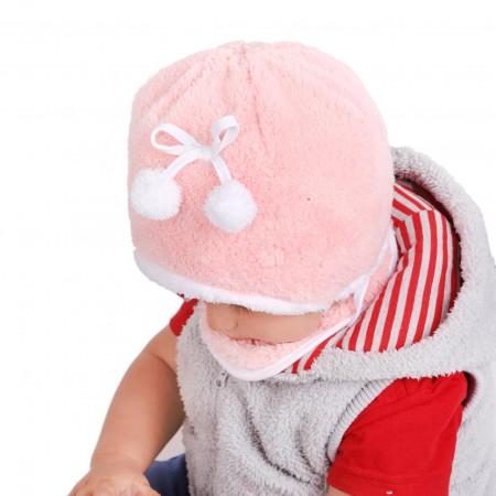 Zimowa czapeczka dla dziewczynki