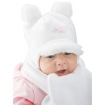 Zimowy komplet dla chłopca lub dziewczynki,czapeczka i szalik.
