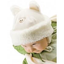 Zimowa czapeczka dla dziewczynki lub chłopca z szalikiem