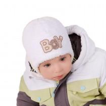 Zimowa czapeczka dla chłopca .