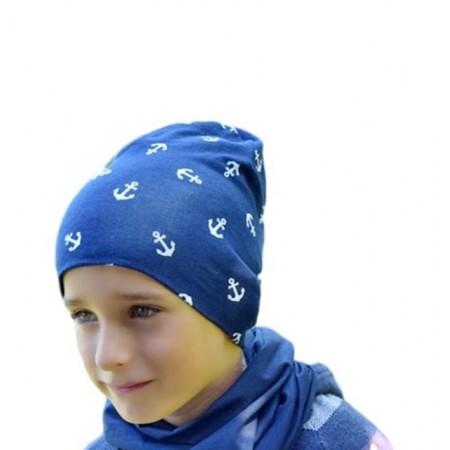Jesienna czapeczka dla chłopca  lub dziewczynki