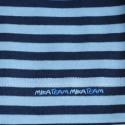 Granatowo/Niebieskie  paski