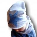Wiosenna czapeczka dla chłopczyka