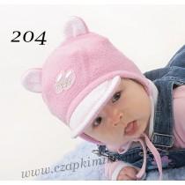 Jesienna czapeczka dla chłopca i dziewczynki