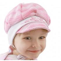 Jesienna czapeczka dla dziewczynki