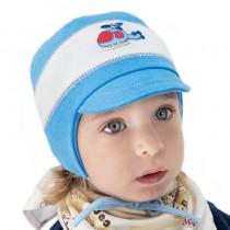 Jesienna czapeczka dla chłopca