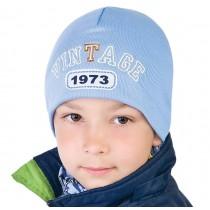 Jesienna czapka dla chłopca