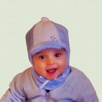 Zimowa czapeczka dla chłopca i dziewczynki