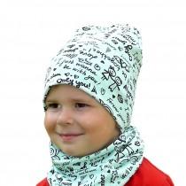 Wiosenna czapeczka dla chłopca lub dziewczynki