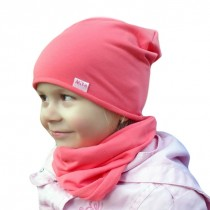Wiosenna czapeczka dla chłopczyka lub dziewczynki typu KRASNAL + KOMIN
